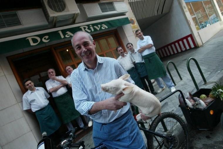 Pepe Morán, al frente de De la Riva