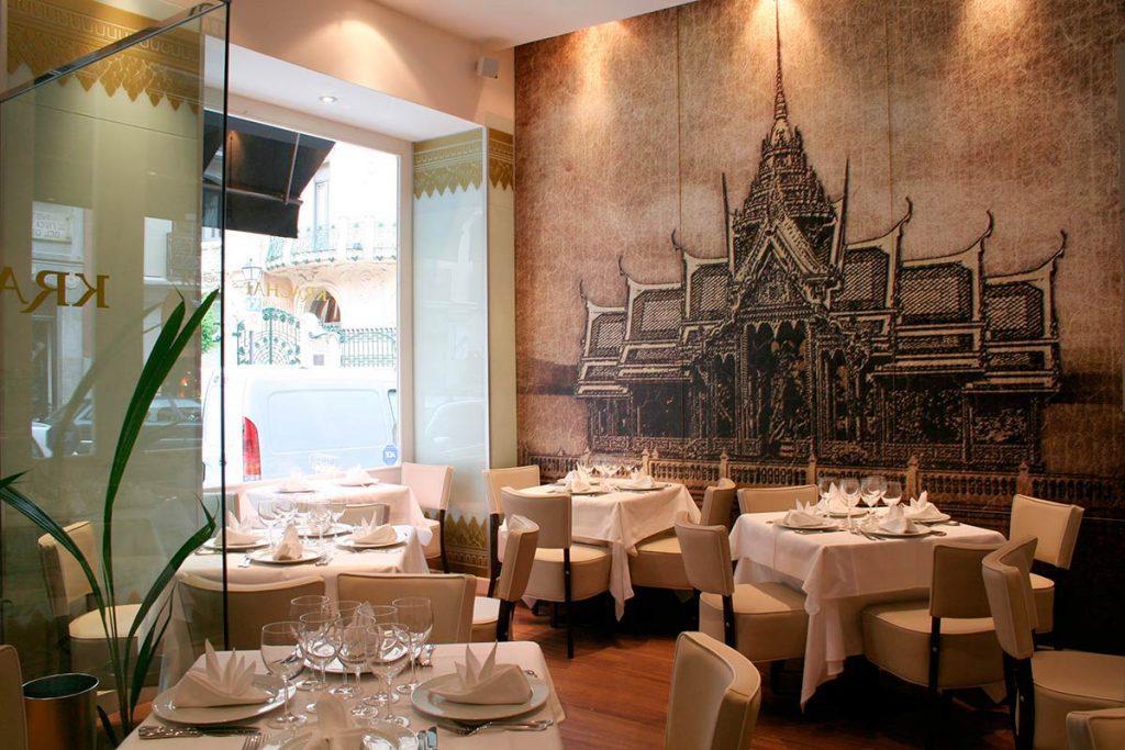 Restaurante Thailandés Madrid Krachai