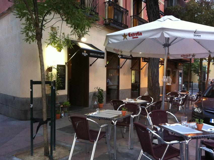 Mercato ballar calle santa engracia 24 madrid for Oficina de madrid santa engracia