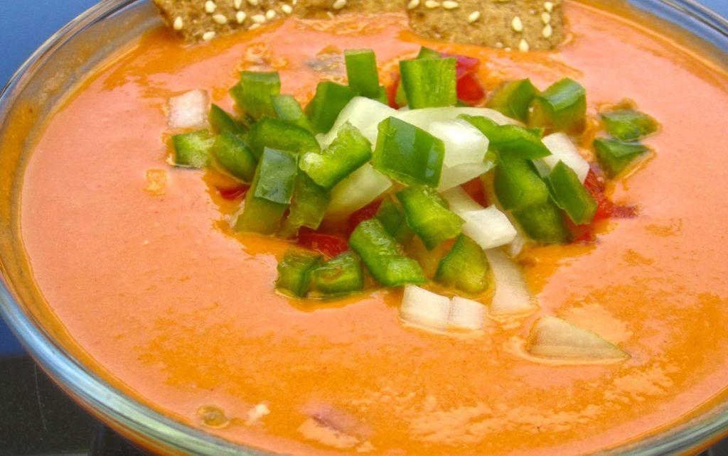 Para comer gazpacho y salmorejo en Madrid