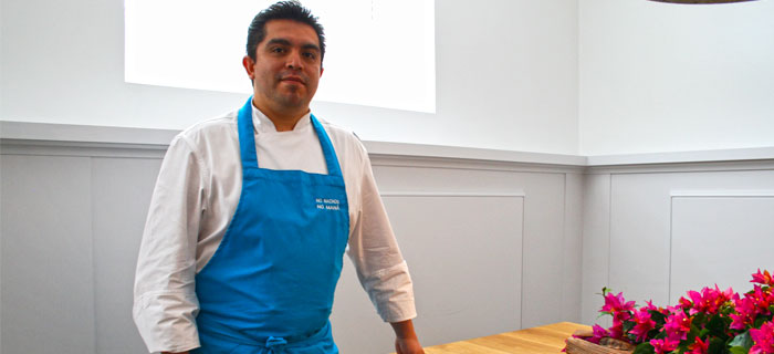Roberto Ruiz, cocinero de MX
