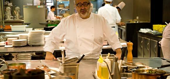 El buen cocinero, Santi Santamaría