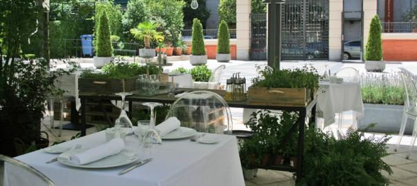Espectacular terraza en el centro de Madrid