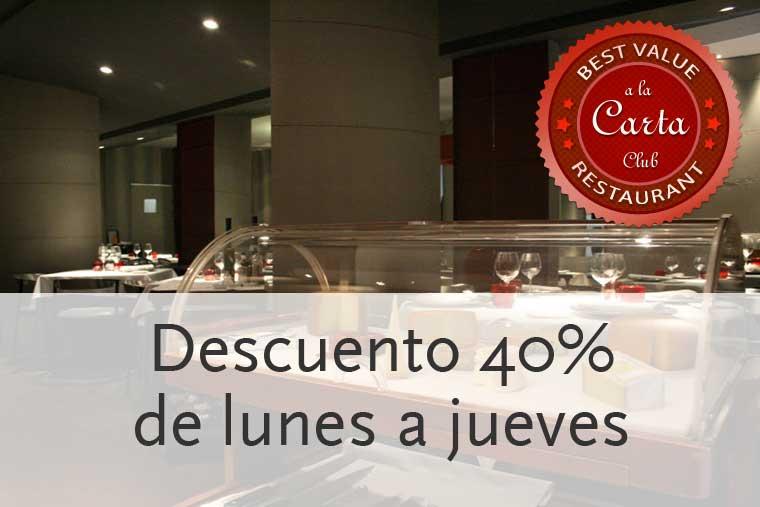 Descuento 40% en restaurante Gala