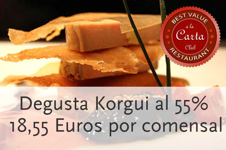 Oferta especial en Korgui