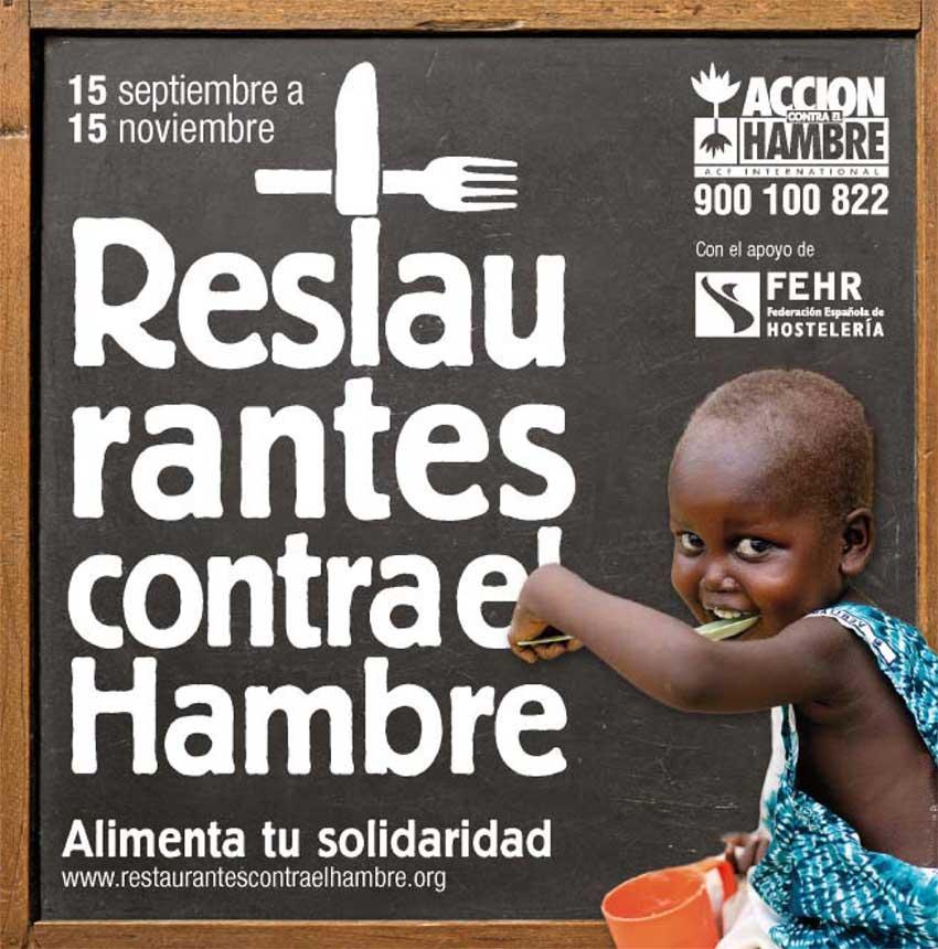 Restaurantres Contra el Hambre en Madrid 2013