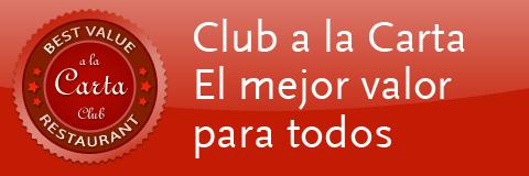 Club a la Carta, promociones y descuentos de restaurantes en Madrid