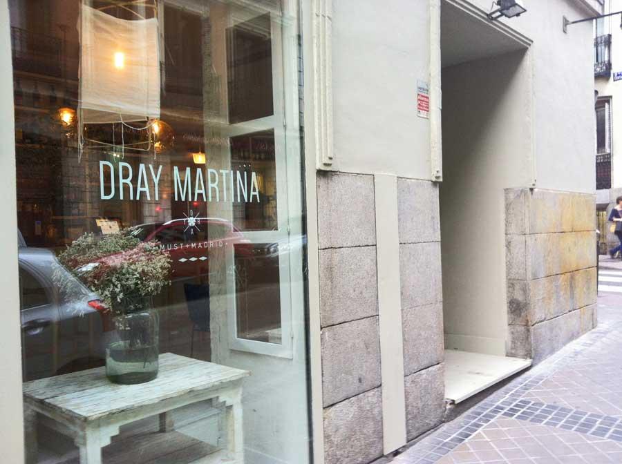Restaurante Dray Martina en la calle Argensola de Madrid