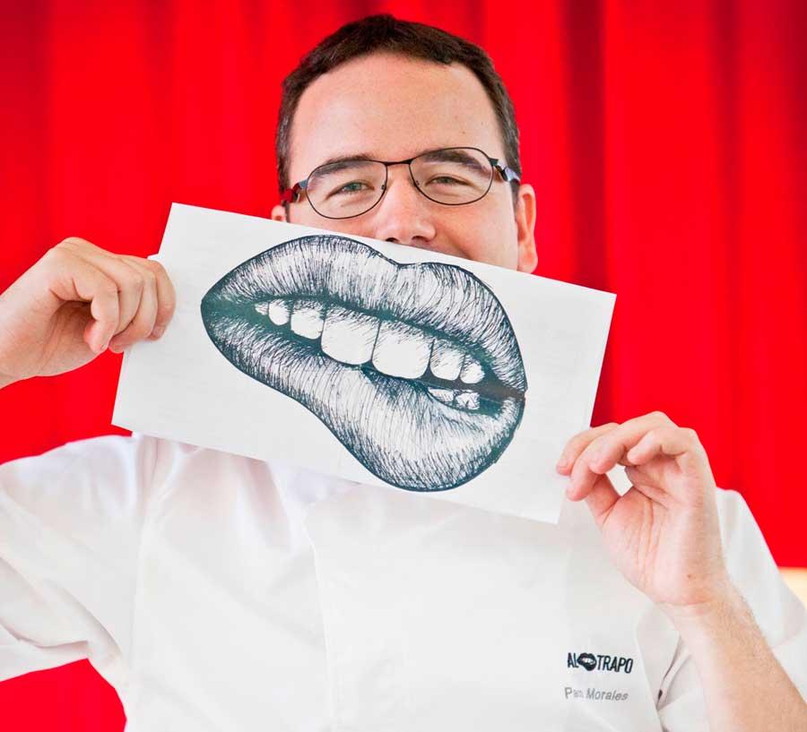 Paco Morales cocinero de Al Trapo Madrid