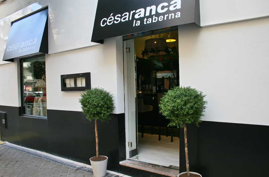 la Taberna de César Anca en Madrid