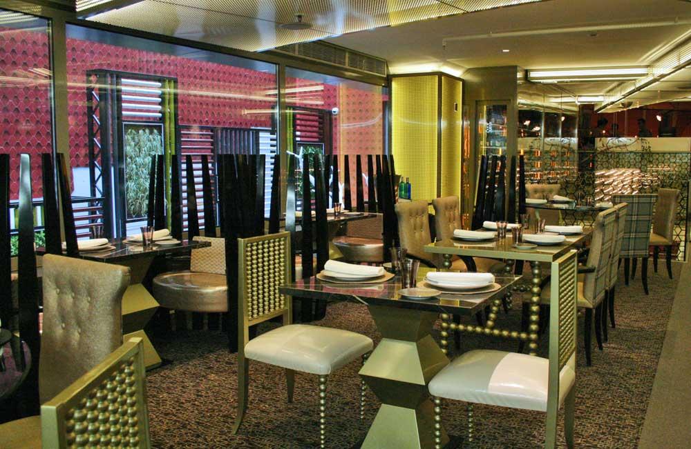 Restaurante Columbus en el Paseo de Recoletos de Madrid