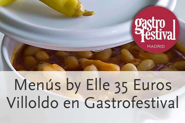 Restaurante Villoldo en Gastrofestival 2014