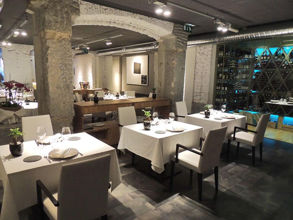 Restaurante Alabaster Madrid