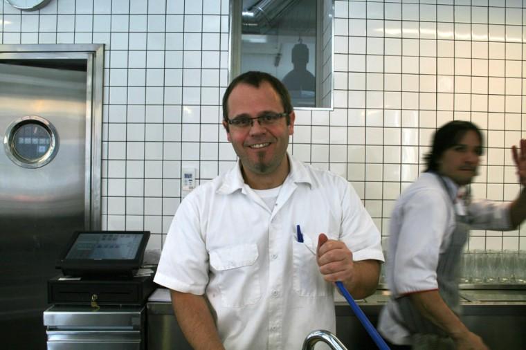 Pablo Giudice, ahora pizzero en Picsa