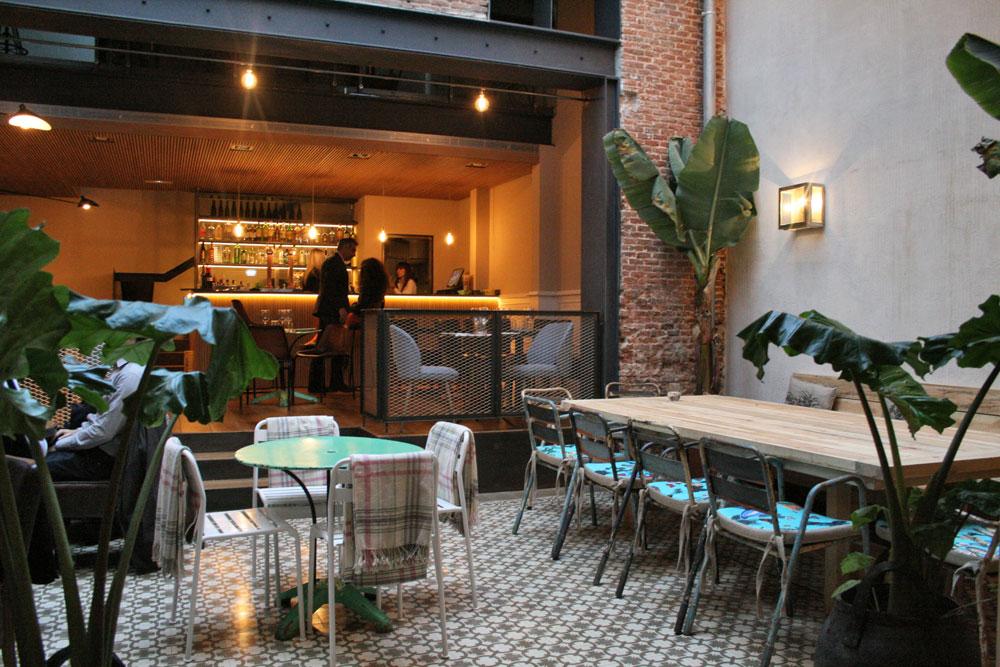 La contrase a de ponzano madrid a la carta for La casa encendida restaurante madrid