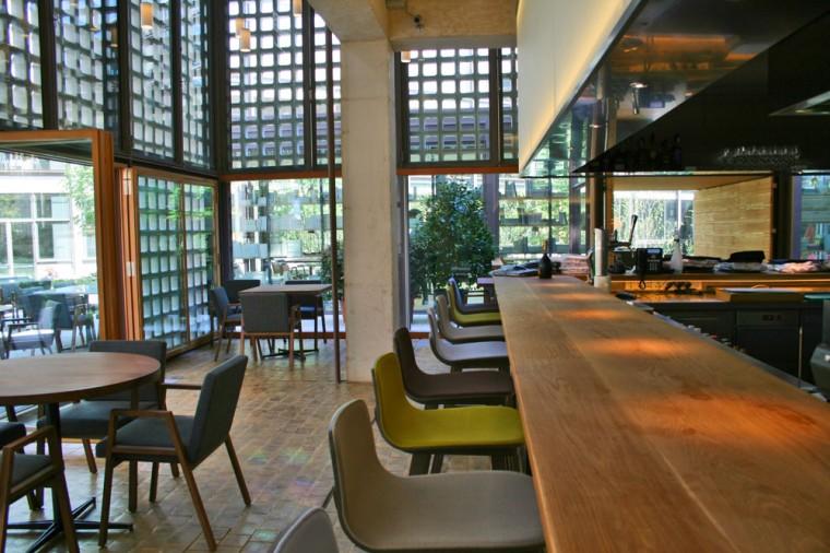 Bosco de lobos en la sede del coam madrid a la carta for Restaurante escuela de arquitectos madrid