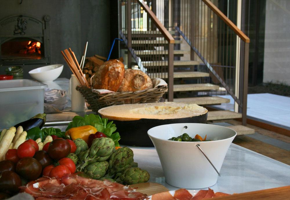 Cocina sencilla en Bosco de Lobos