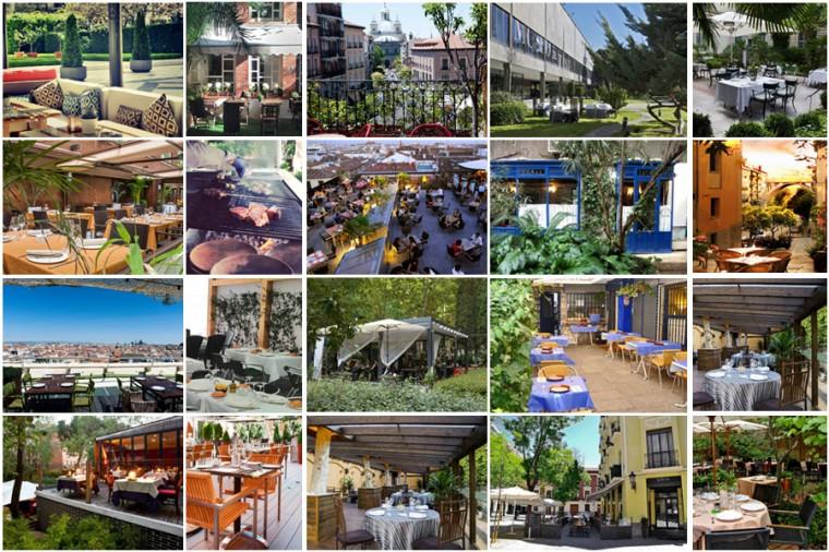 Restaurantes de Madrid con terraza 2014