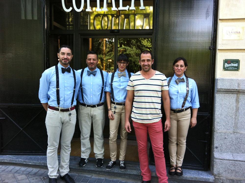 Restaurante Comala en la Plaza de la Lealtad de Madrid