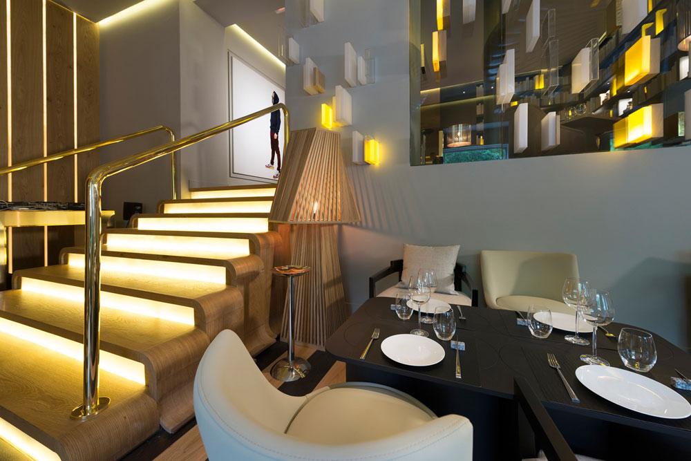Restaurante Otto Madrid en Paseo de la Castellana