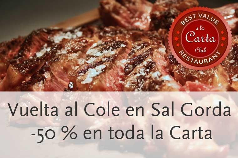 Descuento del 50 % en Sal Gorda Madrid