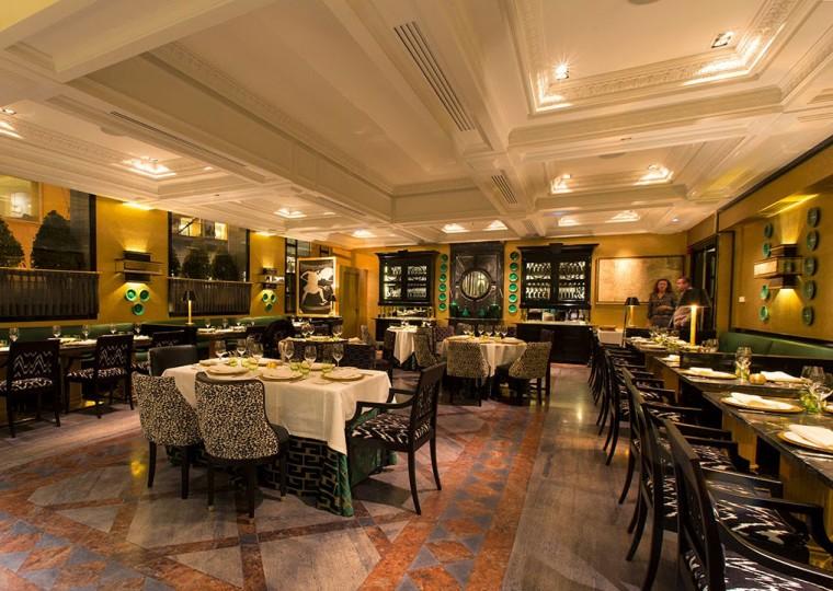 Comedor del restaaurante Caray Madrid