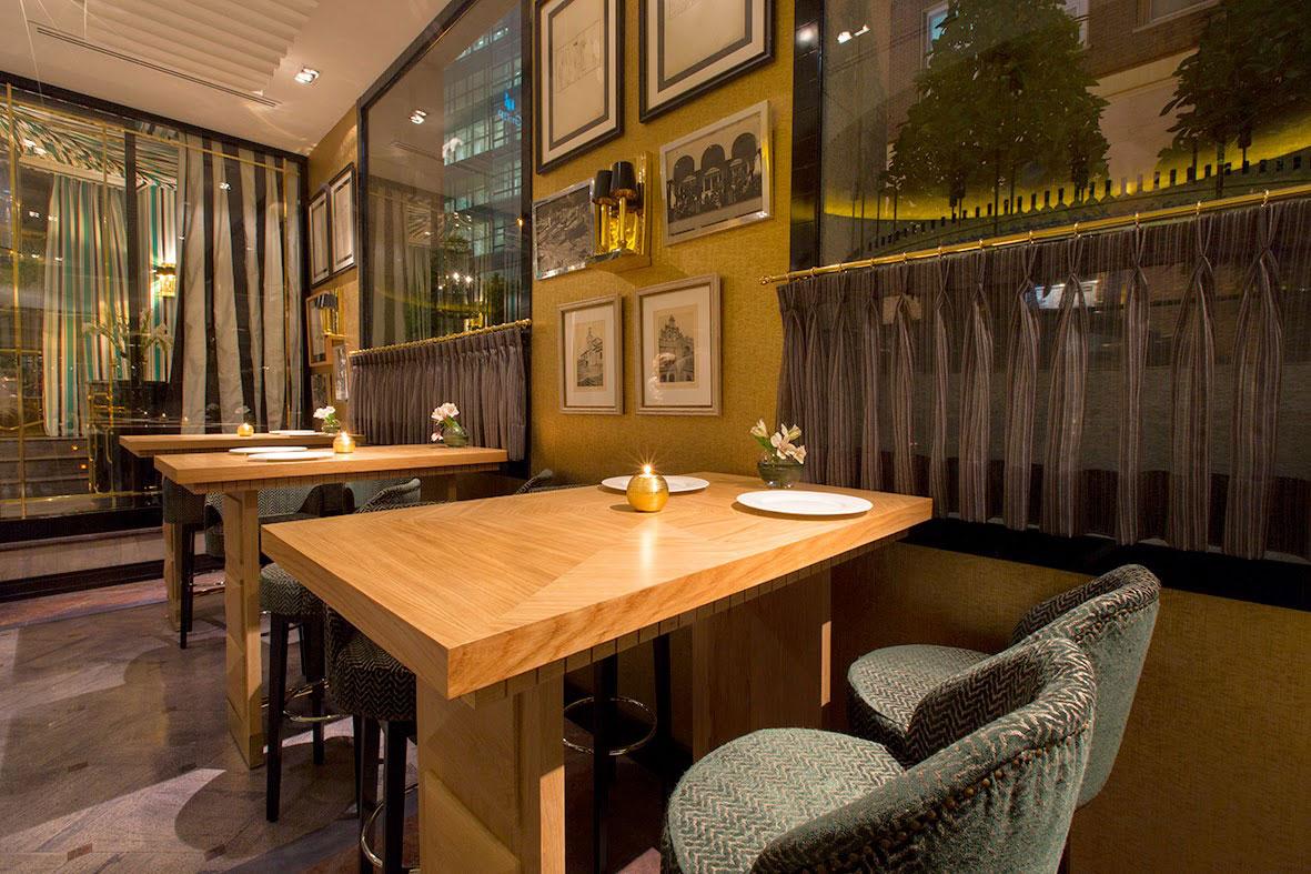 Comedor del restaurante Caray Madrid