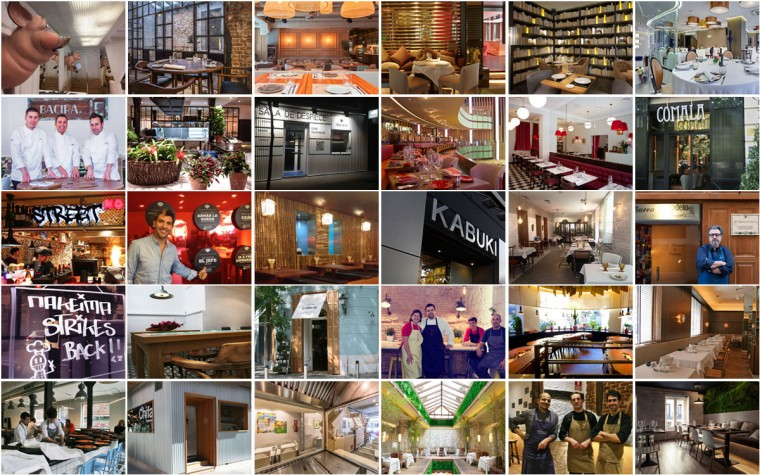 Lista de restaurantes de Madrid para otoño 2014
