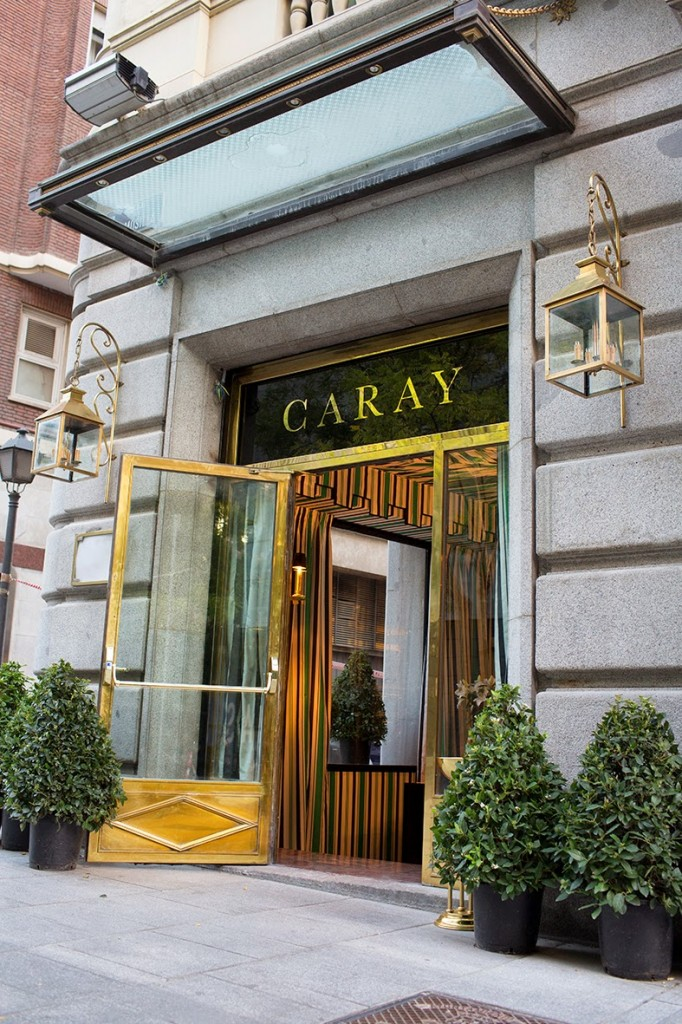 Entrada a Caray Madrid en Hermosilla