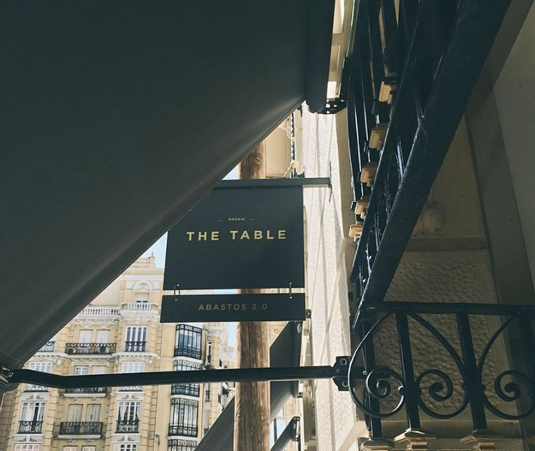 Abastos 2.0 en The Table del Hotel Urso