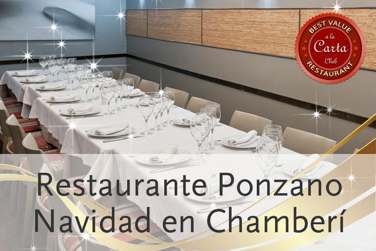 Men s de navidad en ponzano - Restaurantes navidad madrid ...