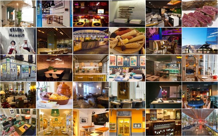 Nuevos restaurantes en Madrid en 2015