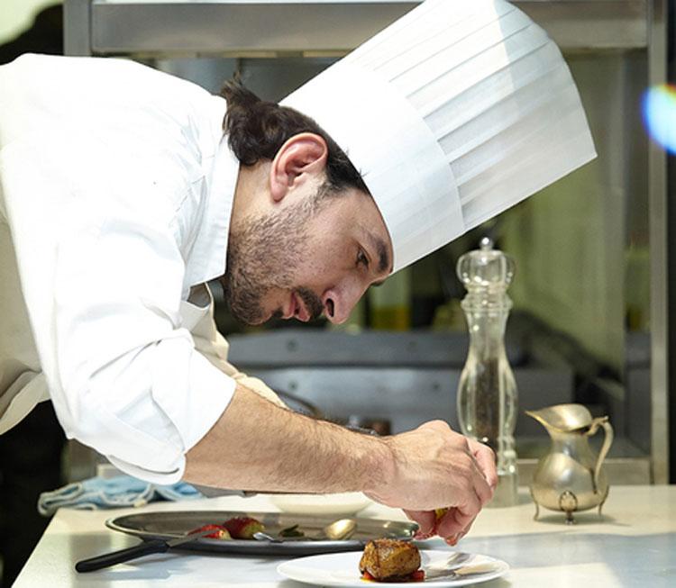 Mario Valles del restaurante Hortensio Madrid