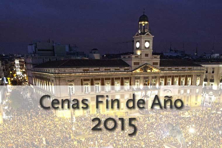 Cenas de Fin de Año 2015 en Madrid