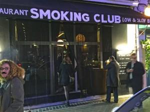 Nuevo Smoking Club Restaurant de Muta en Ponzano