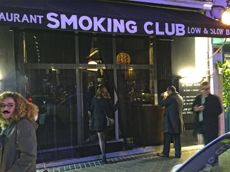 Nuevo Smoking Club Restaurant de Muta en Ponzano