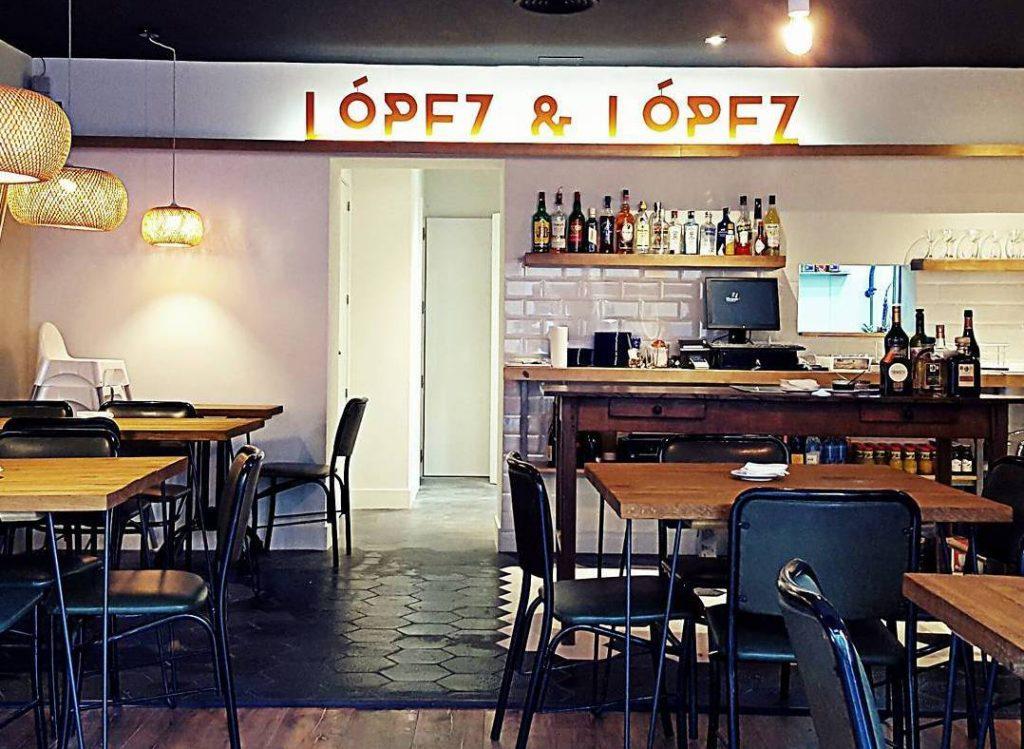 Pizzeria López & López en Lavapiés