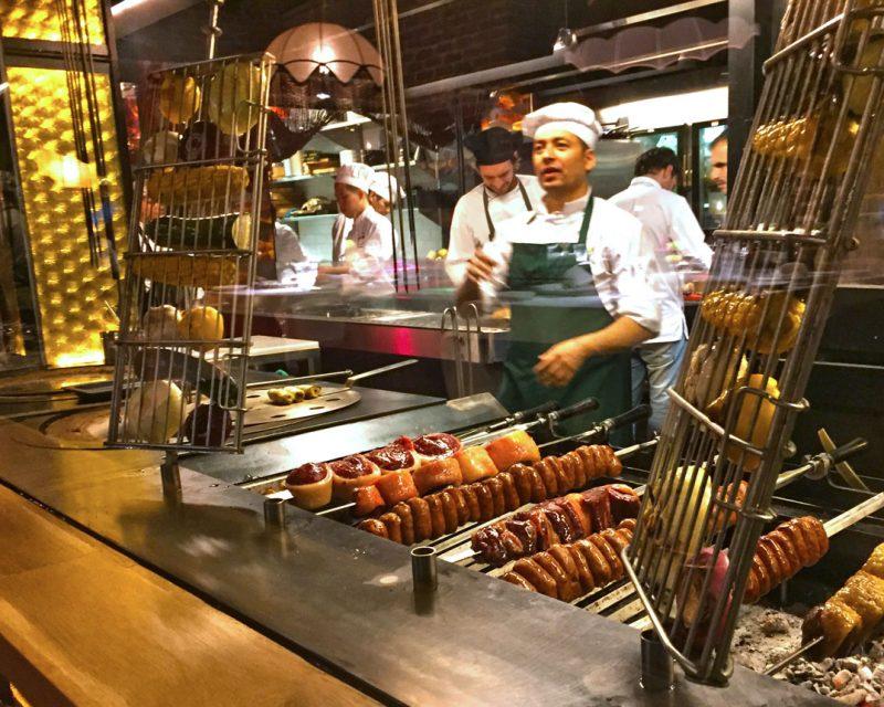 Restaurante Amazónico en la calle Jorge Juan de Madrid