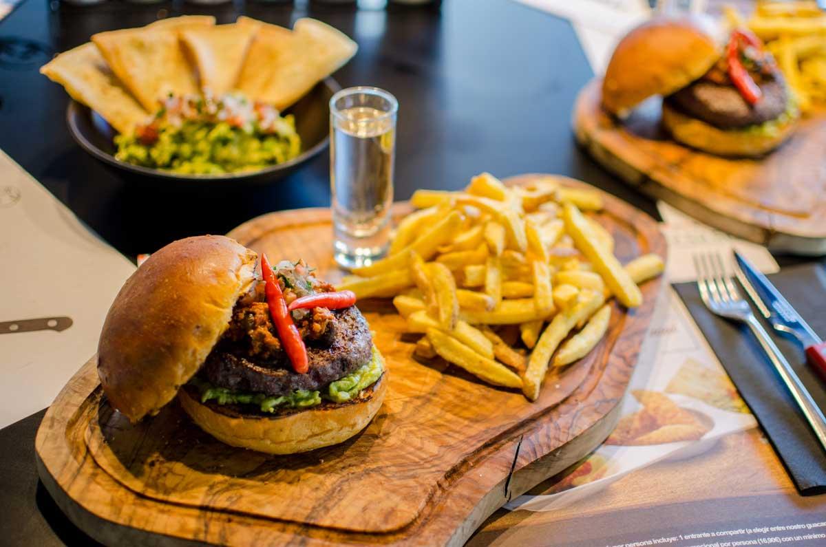 Mejicante Experience con Guacamole en Hamburguesa nostra