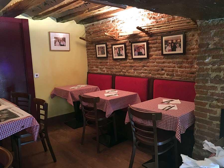 Restaurante El Mollete de la calle Bola