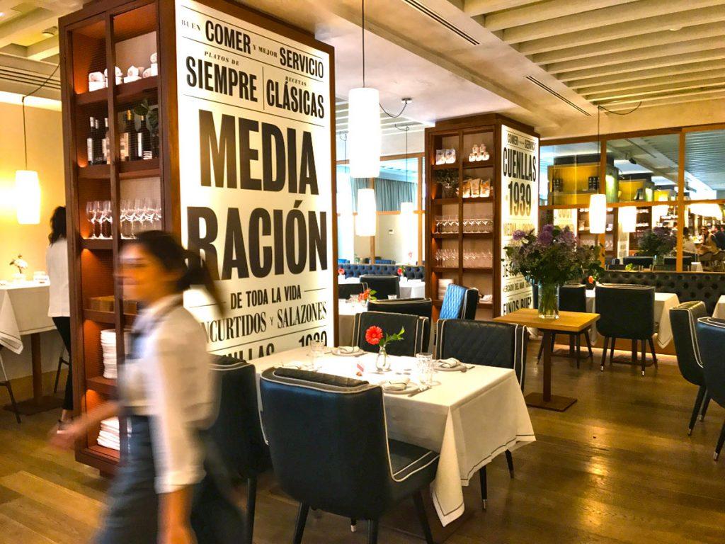 Novedades gastronómicas en Madrid