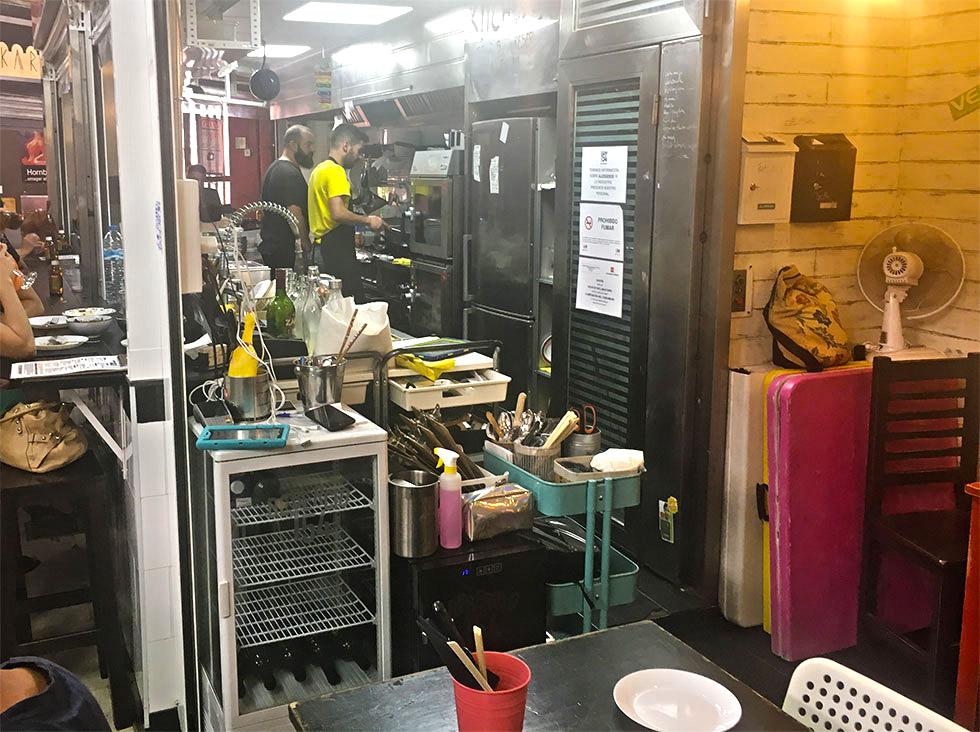 Kitchen 154 en el Mercado de Vallehermoso