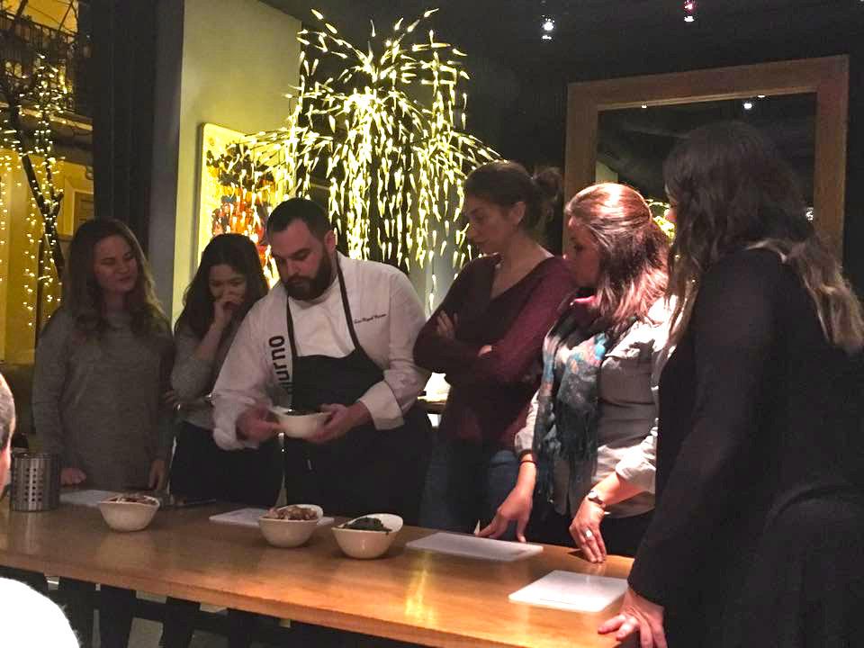 Curso de cocina en Diurno Madrid