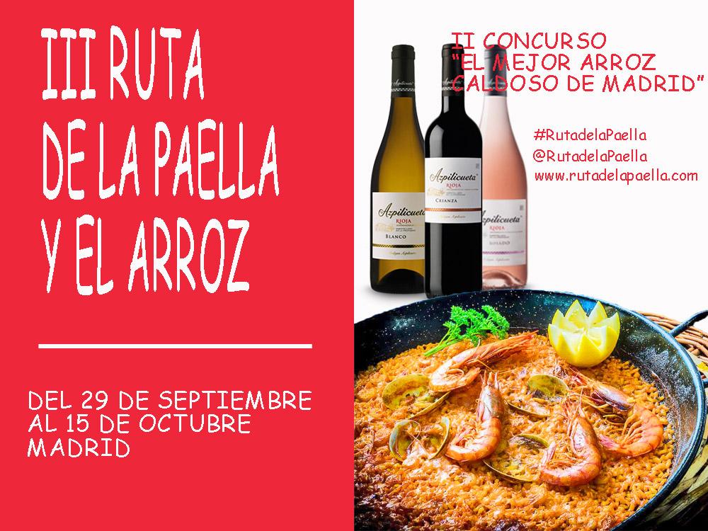 III Ruta de la Paella y el Arroz en Madrid