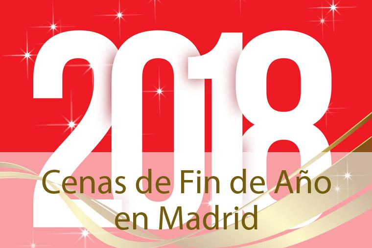 Cenas de Fin de Año 2017 Madrid