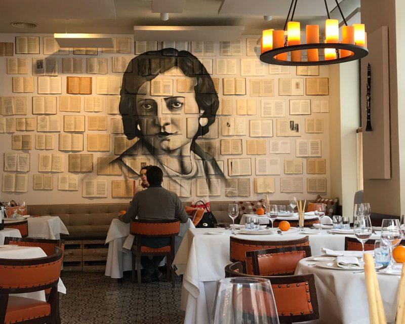 Restaurante Amparito Roca Madrid