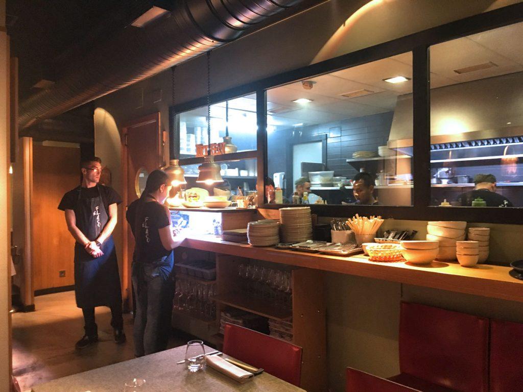 Restaurante El Flaco, cocina thai en Madrid
